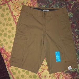 Comfortable cargo MENS shorts. Sonoma Flex Wear
